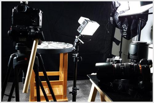 Kameras und Licht